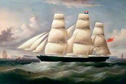 Clipper 'Phoenician', Aberdeen White Star Line