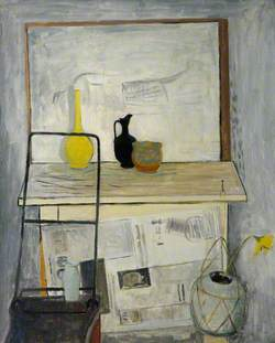 Still Life with a Jug and a Donkey