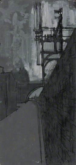 Old Railway Wall below Union Bridge