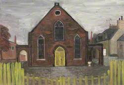 The Church with the Yellow Door