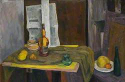 Still Life in Green and Yellow