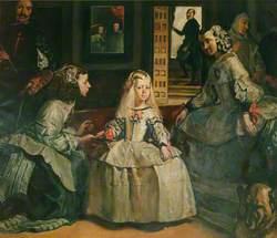 Las meninas de la corte de Felipe IV