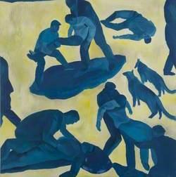 Blue Pietà