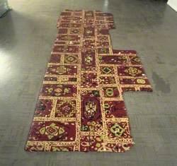 Renovated Carpet No. 1 (Burgundy)