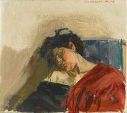 Angela Asleep