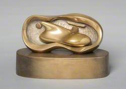 Maquette for Reclining Interior Oval