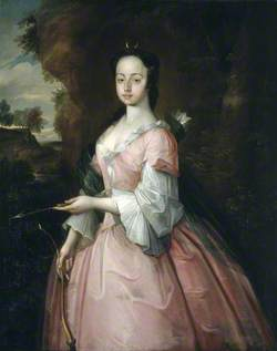 Diana Pryce (b.1731), with the Attributes of Diana