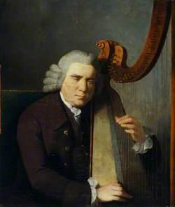 The Blind Harpist, John Parry (1710?–1782)