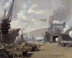 Swansea Docks in Wartime