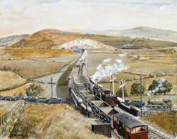 Llanbradach Viaduct, c.1920