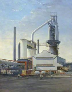 No. 5 Blast Furnace, Abbey Works, Margam