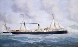 SS 'Embiricos' off Dover