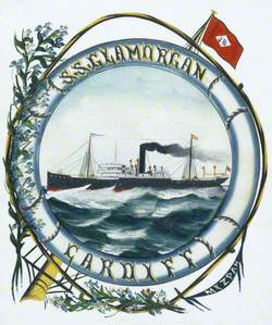 SS 'Glamorgan', Cardiff