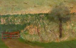 Rural Scene, Red House