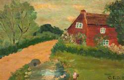 Rural Scene, Bushes and Trees