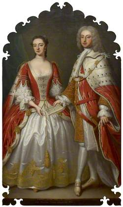 Thomas Fermor, 1st Earl of Pomfret, and Henrietta Louisa, Countess of Pomfret