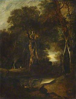 Woodland Scene with Gipsies