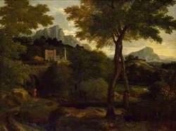 Mountainous Landscape with a Citadel