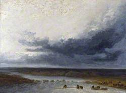 Landscape with Fishermen at the Mouth of a River