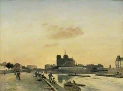 View of Notre-Dame, Paris