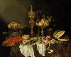 Still Life with a Lobster and Turkey