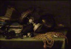 Still Life with a gold Chain