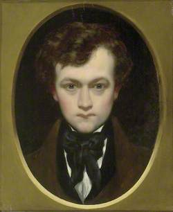Self-portrait as a young Man