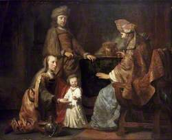 The Infant Samuel brought by Hanna to Eli