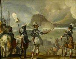 Military Commanders at a Siege