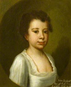 John Russell, Child of Colonel Charles Russell, Aged 4