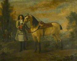 Portrait of a Gentleman with a Roan Charger