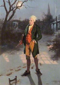 William Cowper with the Bellows