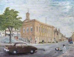 Chipping Norton Town Centre, Oxfordshire