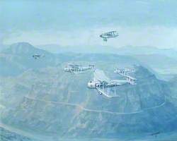 Evacuation from Kabul by Vickers Victorias and Westland Wapitis over the Khyber Pass, 1928–1929