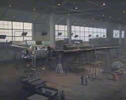 BBMF Lancaster Servicing