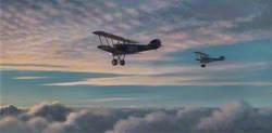 Camels of 209 Squadron Dawn Flight