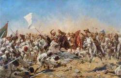 The 21st Lancers at Omdurman, Sudan