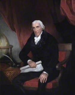 Isaac Dalby (1744–1824), Aged 72, Professor of Mathematics at the Royal Military College