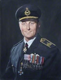 Air Vice-Marshal S. W. B. Menaul (1915–1987), CB, CBE, DFC, AFC, RAF, Commandant (1965–1968)