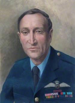 Air Vice-Marshal F. B. Sowrey (b.1922), CB, CBE, AFC, Commandant (1972–1975)