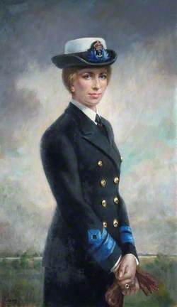 Princess Anne (b.1950), WRNS