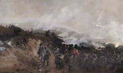 Portrait of the Battle of Inkerman, Ukraine, 5 November 1854