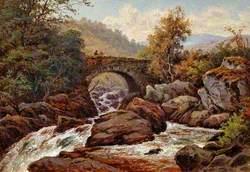 An Old Bridge, Capel Curig