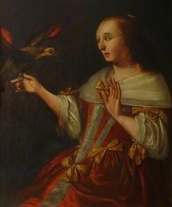 A Lady with a Bird