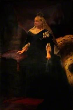 Queen Victoria (1819–1901), Robed