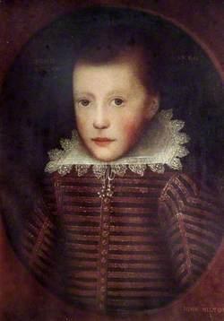 John Milton (1608–1674), Aged 10