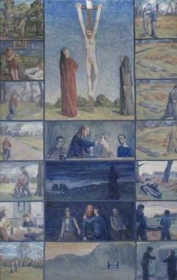 Crucifixion Polyptych