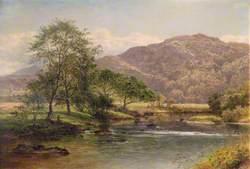 The River Llugwy near Capel Curig