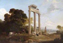 Columns in an Italianate Landscape
