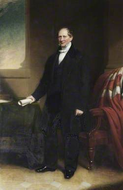 The Right Honourable Frederick Twisleton-Wykeham-Fiennes (1799–1887), 16th Lord Saye and Sele